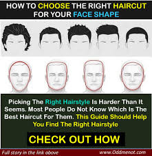 how to choose the right haircut for your face shape u2013 oddmenot