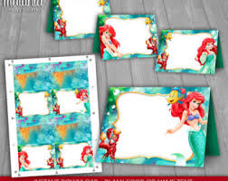 mermaid party decorations etsy