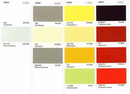 bmw motorcycle colors code