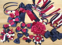 school sport team hair accessories custom made choose