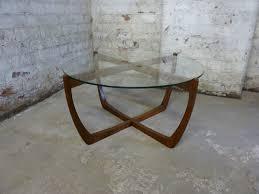 circular glass coffee table antiques atlas mid century teak coffee table circular glass top