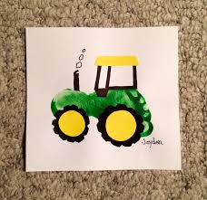 baby footprint ideas tractor baby pencil and in color tractor baby