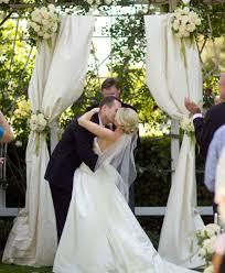 wedding ceremony arch ceremony arch fabric help weddingbee
