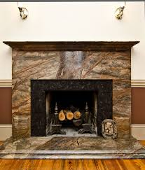 before u0026 after rainforest green granite fireplace surround