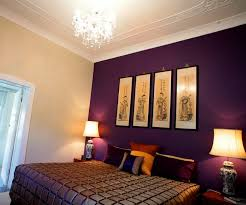 Dark Purple Bedroom by Bedroom Dark Purple Bedroom Color Chandeliers White Curtains