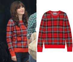 plaid sweater dress like there are only a few of jess s plaid