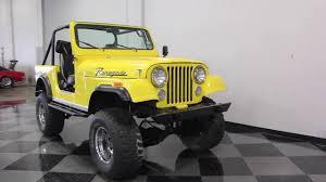 cj jeep yellow 1844 dfw 1979 jeep cj7 youtube