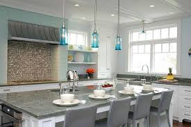 Grey And Turquoise Kitchen by Turquoise Light Filled Kitchen Interior Design