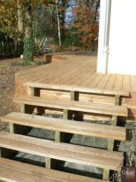 revetement pour escalier exterieur nivrem com u003d escalier terrasse bois kit diverses idées de