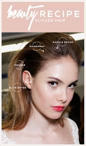 how to achieve swept back hairstyles for women u tube beauty recipe slicked back hair beauty recipe makeup and hair