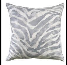Grey Decorative Pillows Jungle Cat Zinc Decorative Pillow Decorative Pillows