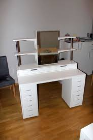 Small Bedroom Vanity With Drawers Makeup Vanity Striking Small Makeup Vanityh Drawers Images