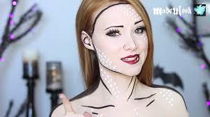 Halloween Makeup Comic Comic Book Makeup Tutorial 4 Different Ways Coub Gifs With Sound