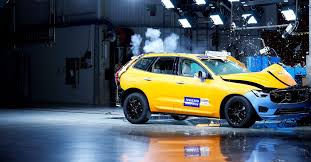 watch the new volvo xc60 survive some nasty crash tests the verge