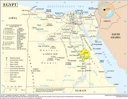 Map Of Upper Peninsula The Nile Valley Upper Egypt