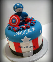 captain america cakes cakecentral
