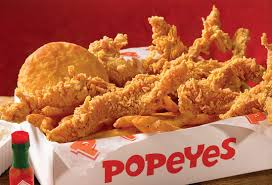 popeyes is king and kfc is a waste of poultry mass appeal
