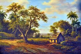 cuban landscape paintings