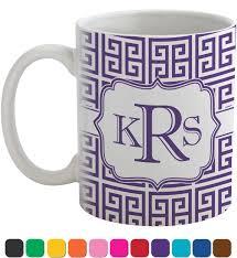 greek key coffee mug personalized youcustomizeit