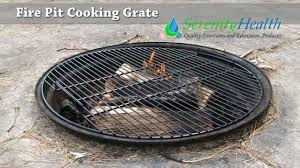 fire pit cooking grate fire pit cooking grate demo by serenity health youtube