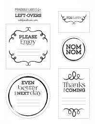 left over labels simplified life 2015 pinterest printable