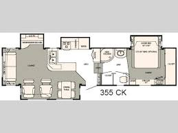 hitchhiker rv floor plans used 2008 nuwa hitchhiker discover america 355 ck fifth wheel at