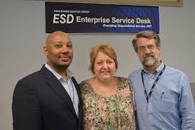 nasa enterprise service desk the nssc welcomed roscoe sheehy program manager for the end user