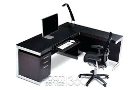 L Shaped Contemporary Desk Modern L Shaped Desk Pysp Org
