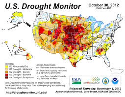Us Drought Map Latest Map From The U S Drought Monitor Shows Continued