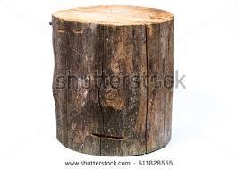 wood log isolated on white background stock photo 511828555