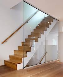 white oak staircase modern staircase toronto by roundabout