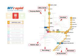 Utc Mall Map Kuala Lumpur Light Rail Transit Lrt Lrt In Kuala Lumpur