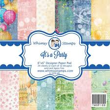 6x6 paper packs whimsy sts