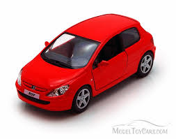 peugeot cars models peugeot 307 xsi red kinsmart 5079d 1 32 scale diecast model toy car