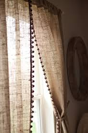 decorating make your home more beautiful with burlap curtains for