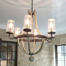 Outdoor Iron Chandelier Rustic Wooden U0026 Wrought Iron Chandeliers Shades Of Light