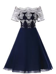 dress blue blue xl plus size lace panel dress nastydress