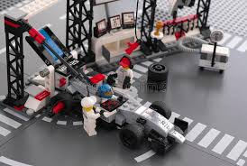 speed chions mclaren mclaren mercedes pit stop by speed chions editorial stock