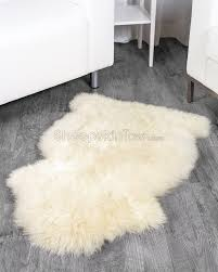 small white faux fur rug creative rugs decoration