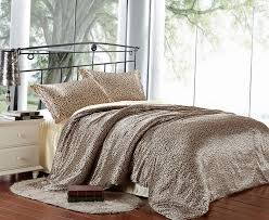 Cheetah Print Comforter Queen 73 Best Silk Bedding Images On Pinterest Duvet Cover Sets