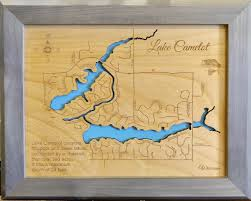 Kohler Wisconsin Map by Lake Camelot Wisconsin Framed Wood Map Wall Hanging This Is A