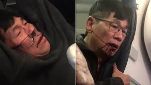 united airlines drag man off overbooked flight youtube