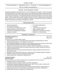 Operations Resume Operations Management Resume Resume For Your Job Application