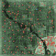 Fallout New Vegas Interactive Map by Fallout 3 Interactive Map With World Roundtripticket Me