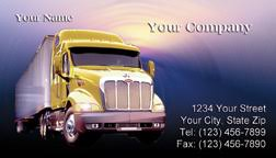 trucking company business card yellow truck business car flickr
