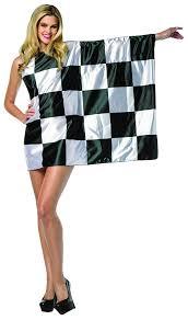 race car halloween costume amazon com rasta imposta women u0027s flag dress checkered black