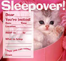 11 creative slumber invitation templates designs free