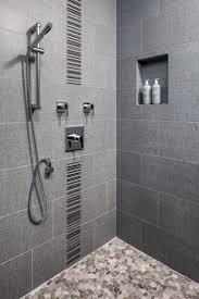 Built In Shower by Best 25 Large Tile Shower Ideas Only On Pinterest Master Shower