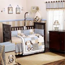 Munire Capri Crib by Creme And Blue Colored Nursery Trendy Family Must Haves For The