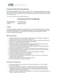 clinical manager resume market research manager resume clinical research manager resume